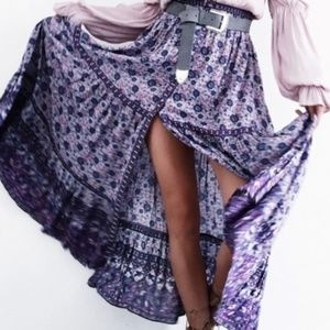 Spell and the gypsy collective kombi skirt maxi xs